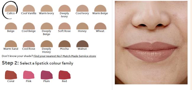 No7 Match Made Lipstick Service Stage 2