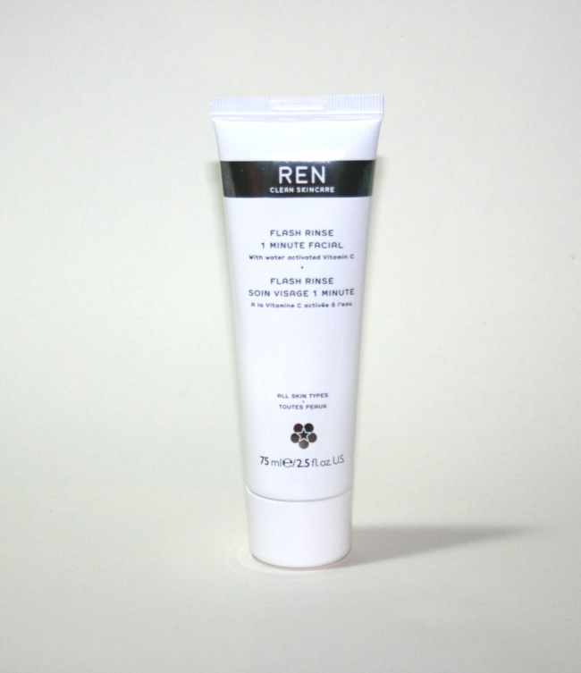 REN Flash Rinse 1 Minute Facial Review