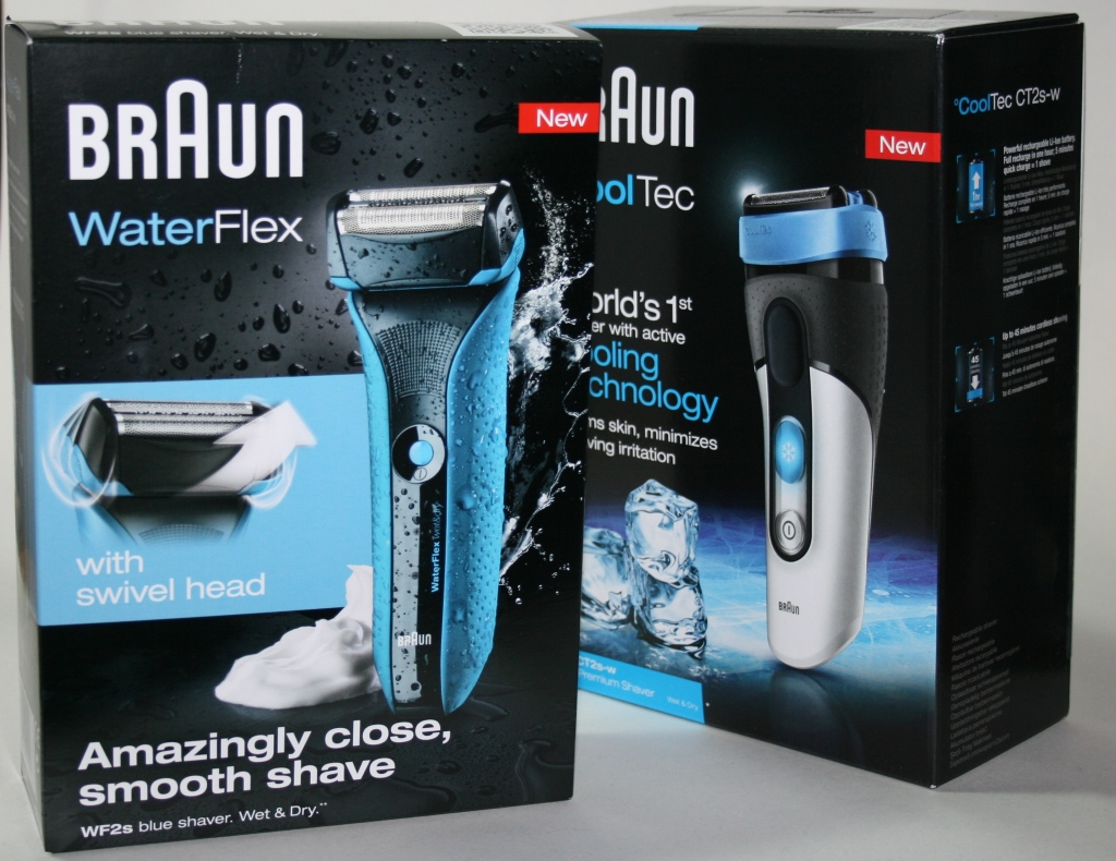FTB: Braun Waterflex and Braun CoolTec Razor Reviews