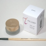 Jane Iredale Jelly Gel Eyeliner in Green and Angle Eyeliner Brush