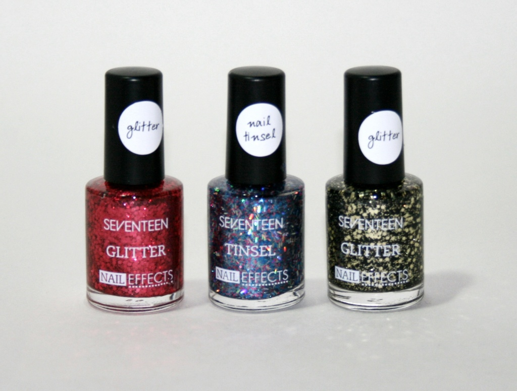 Boots Seventeen Nail Effects: Tinsel and Glitter