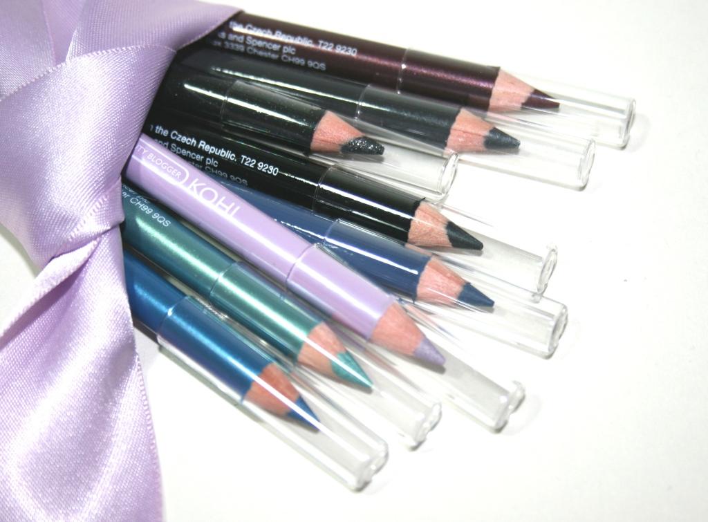 British Beauty Blogger / Marks & Spencer Eye Pencil Kit