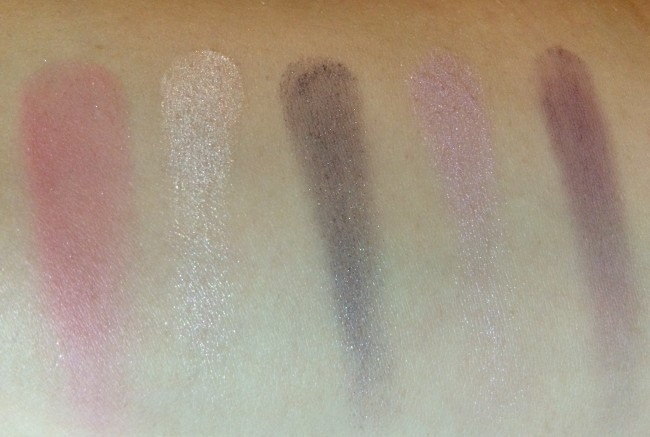 Clinique The Nutracker Act II Swatches