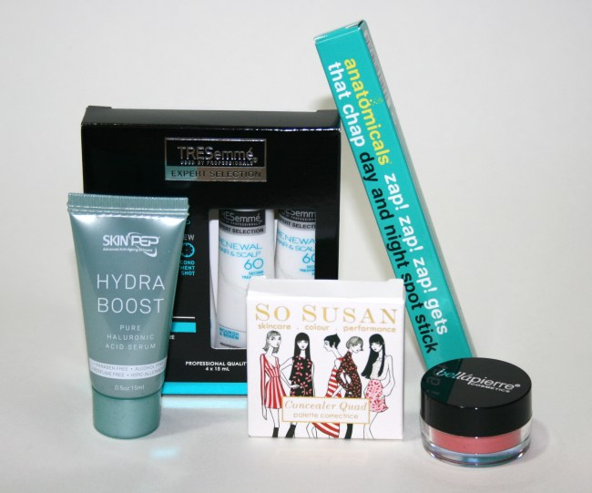 Glossybox December 2014 Review