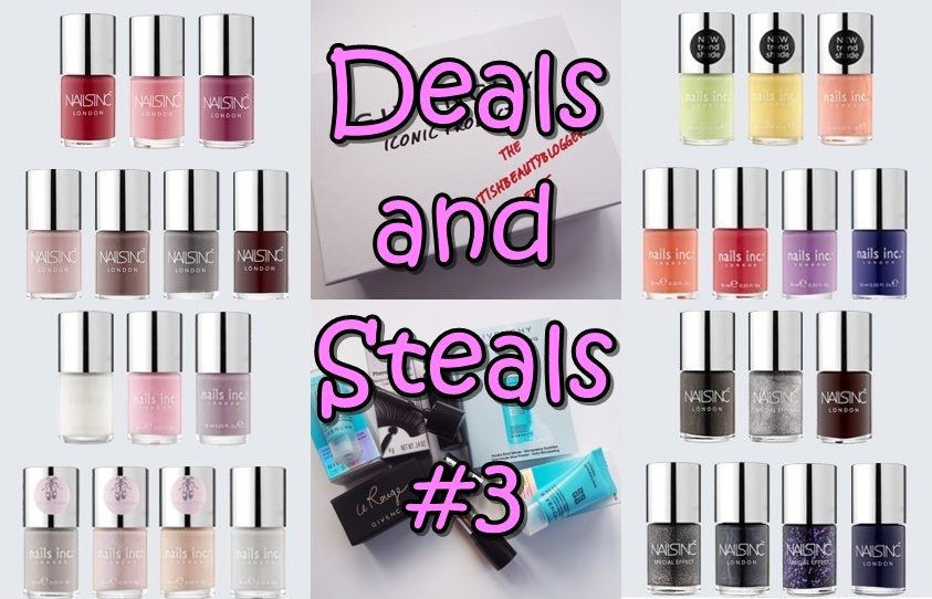 Beauty Deals and Steals #3