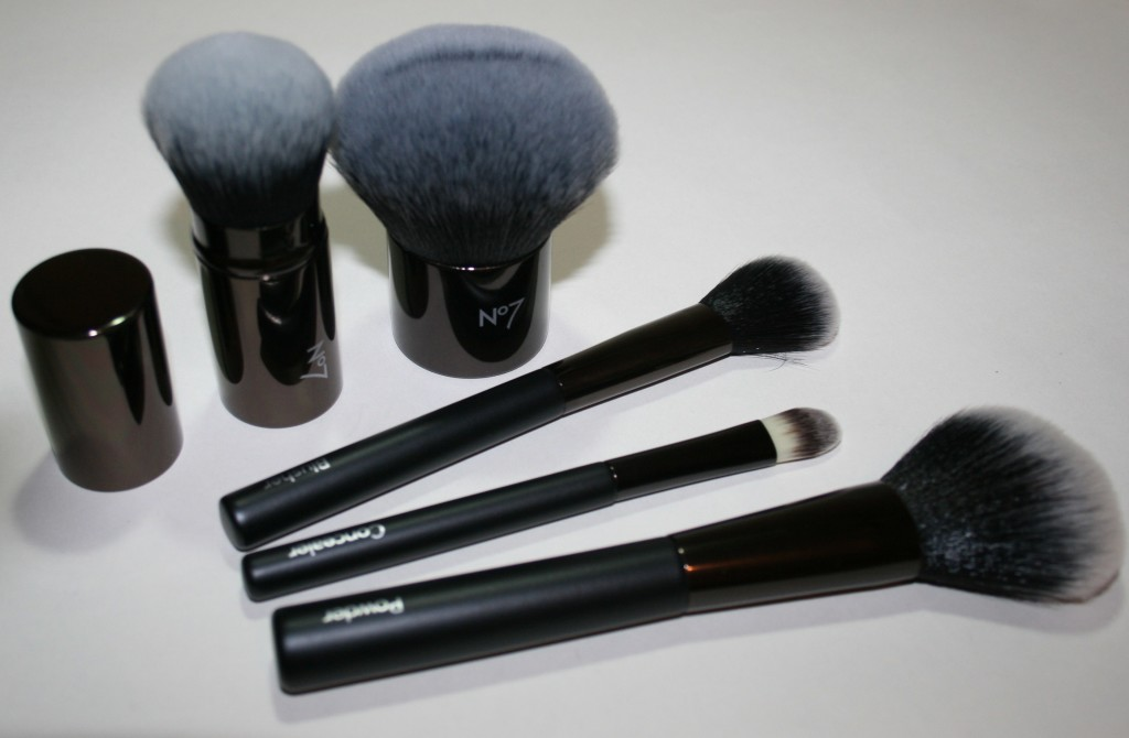 Quick Look: Relaunched Boots No7 Cosmetic Brushes
