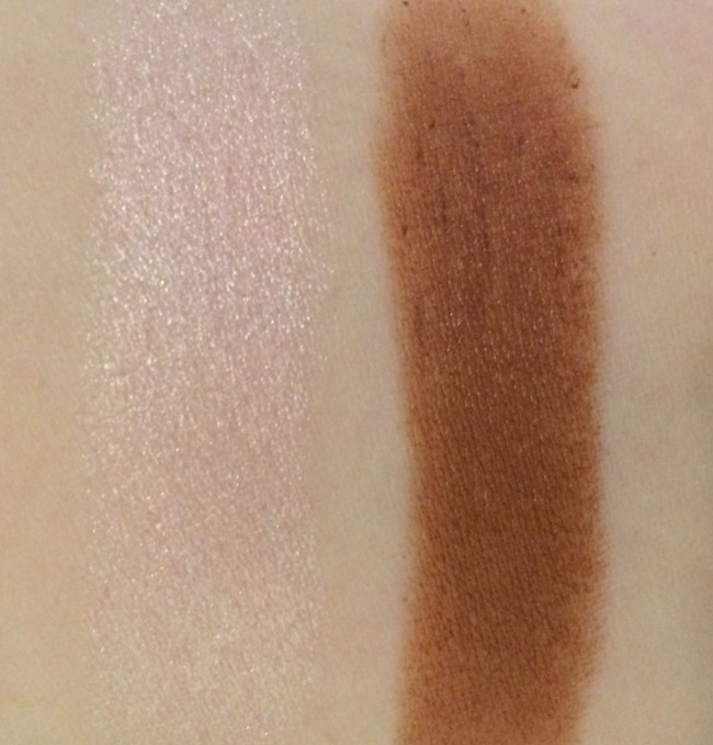 Clinique Chubby Stick Sculpting Contour and Sculpting Highlight Swatches