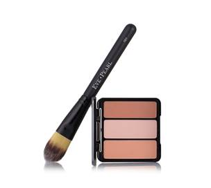 Eve Pearl Blush Trio with Fan Brush