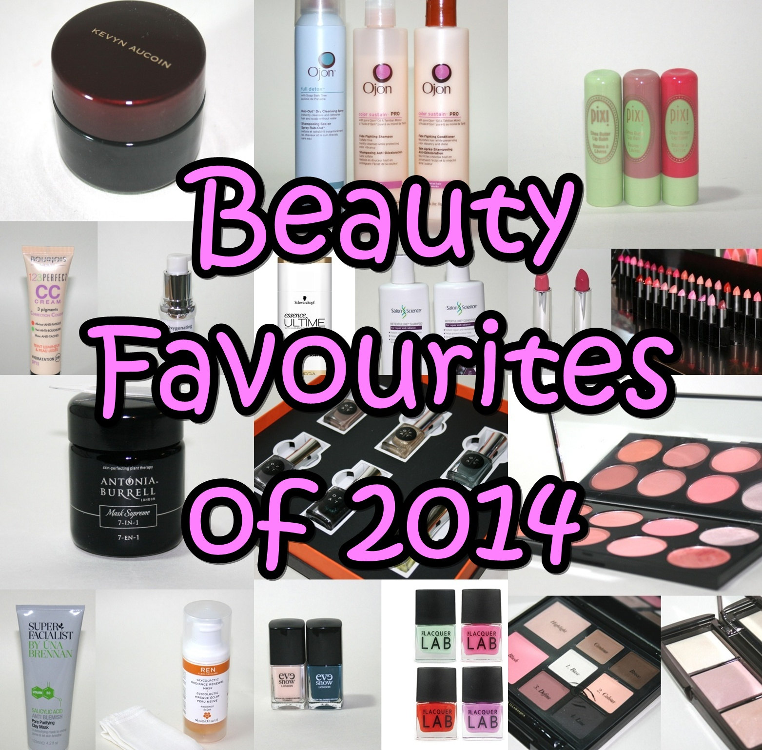 Favourite Beauty Products of 2014