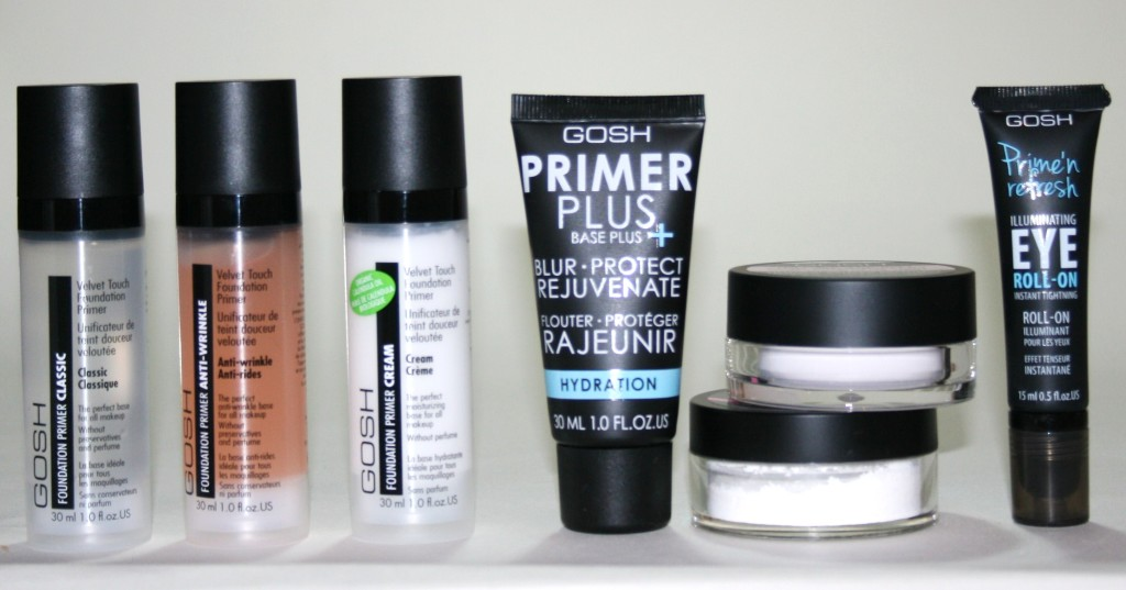 Gosh Cosmetics Primers