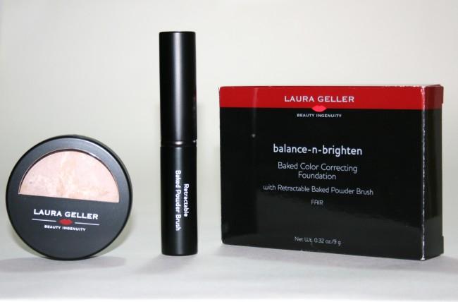 Laura Geller Balance n Brighten Baked Foundation with Brush