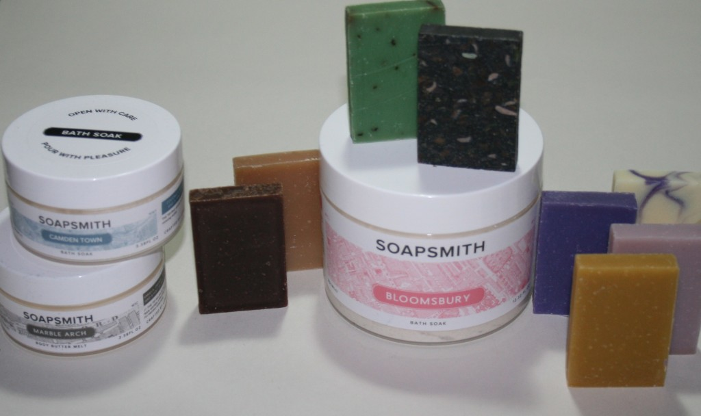 Valentine's Ideas: Soapsmith Step into London Collection