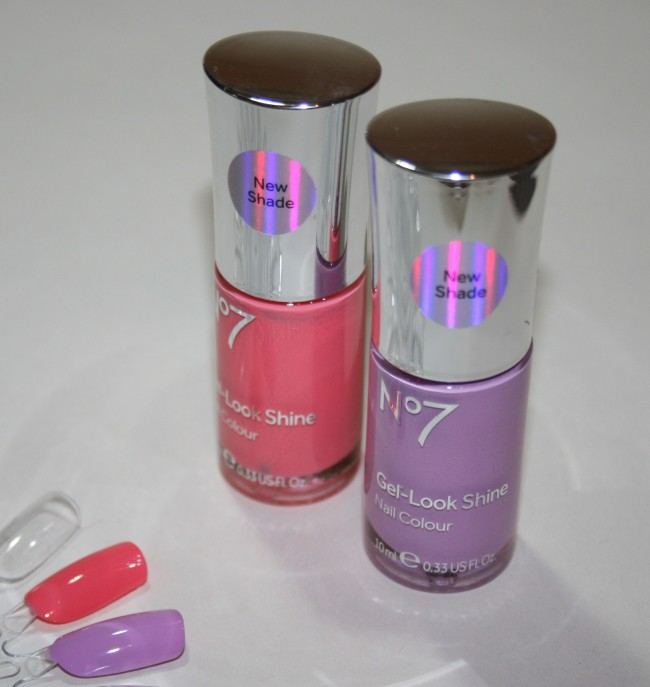 Boots Gel Look Shine Coral Crush and Sweet Lilac