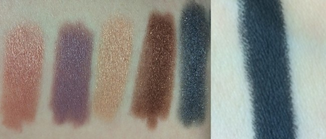 Bourjois Colorband 2-in-1 Eyeshadow & Liner Swatches