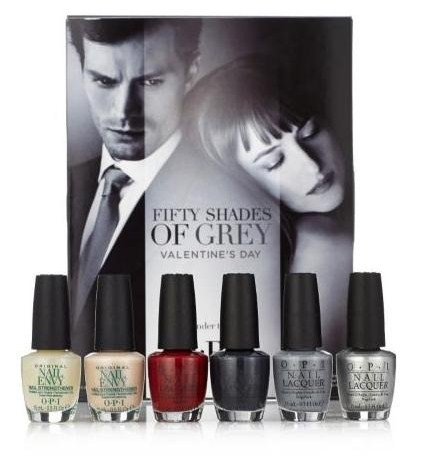 OPI 50 Shades of Grey Set Competition – The Results!