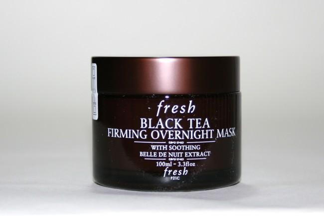 Fresh Black Tea Firming Overnight Mask Review