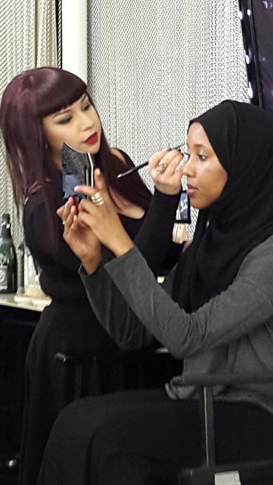 Illamasqua Eyebrow Effects Course Demonstration