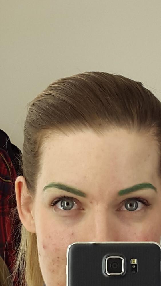 Illamasqua Eyebrow Effects Course Green Brow