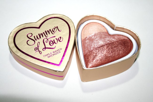 Makeup Revolution I Heart Makeup Triple Baked Bronzer Hot Summer of Love
