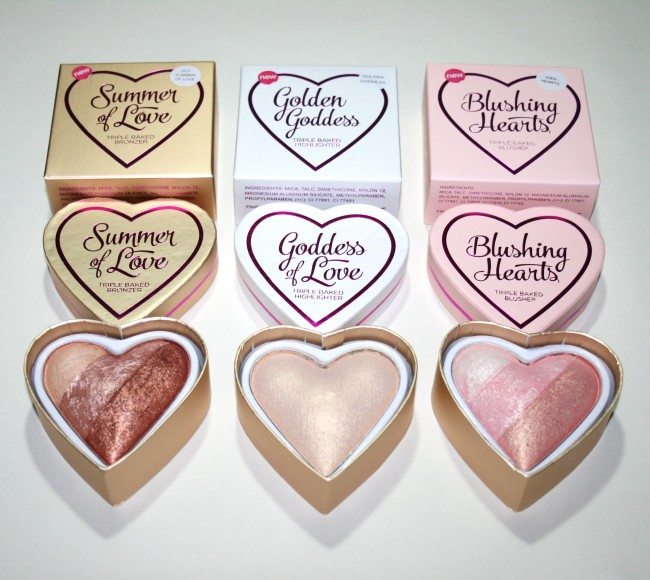 Makeup Revolution I Heart Makeup Triple Baked New Shades
