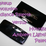 Hourglass Ambient Lighting vs Makeup Revolution Radiance Palette
