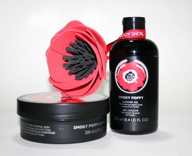 The Body Shop Smoky Poppy Collection Products