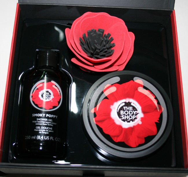 The Body Shop Smoky Poppy Collection presentation