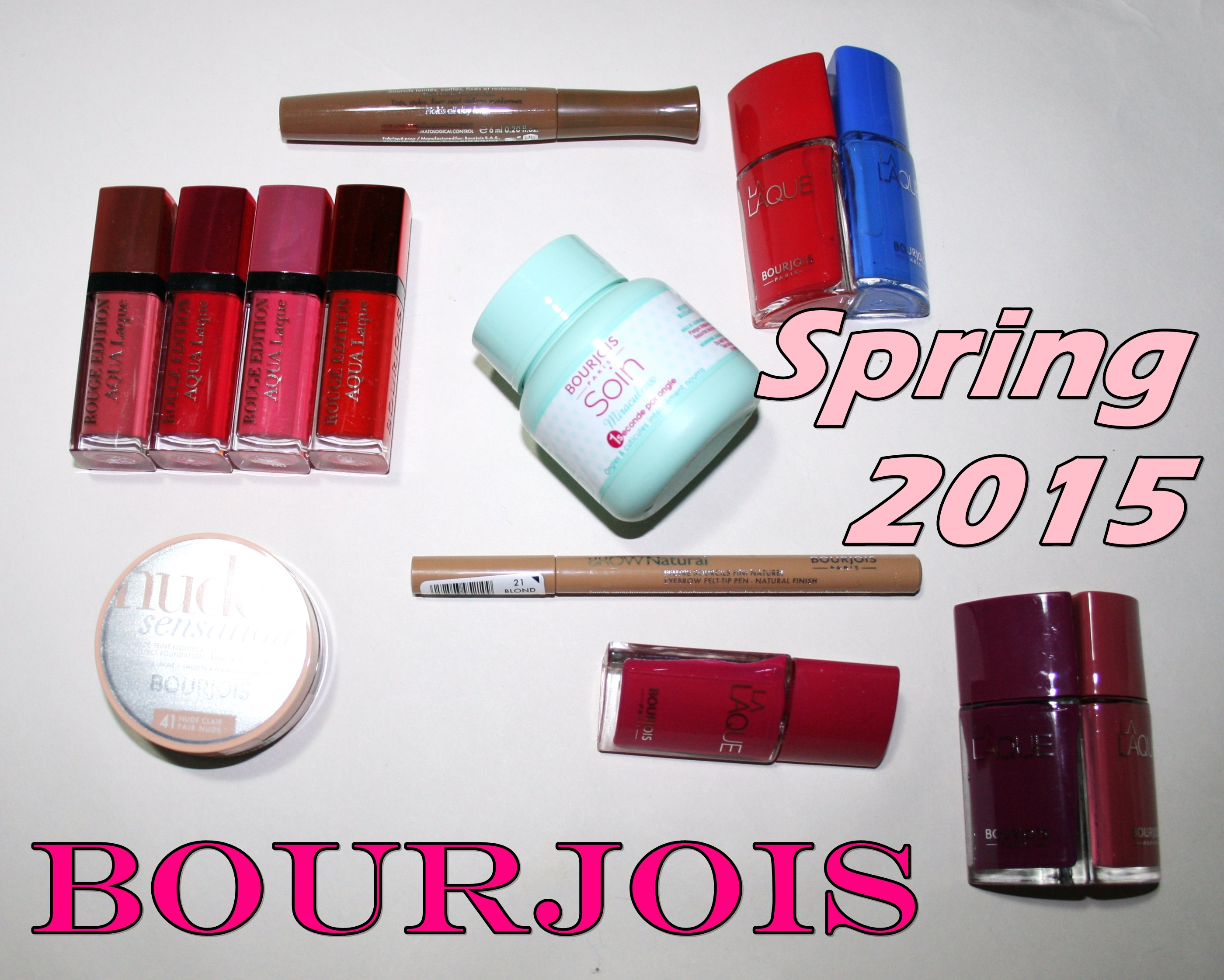 Bourjois Spring Launches 2015