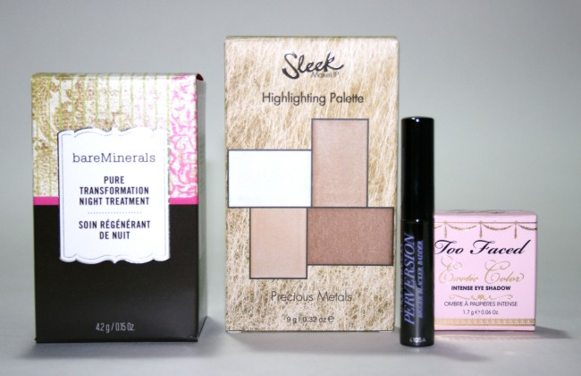 Cohorted Beauty Box March 2015 Contents