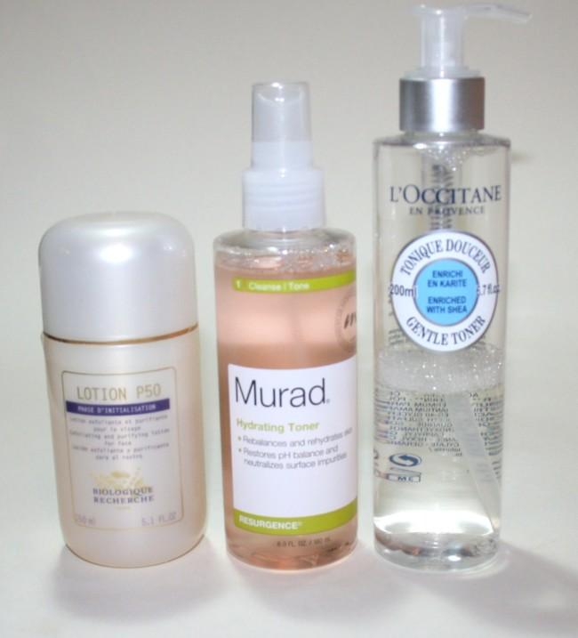 Current Skincare Routine Biologique Recherche Murad L'Occitane