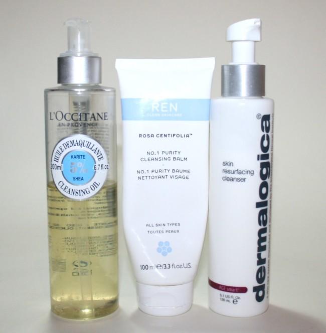 Current Skincare Routine L'Occitane REN Dermalogica