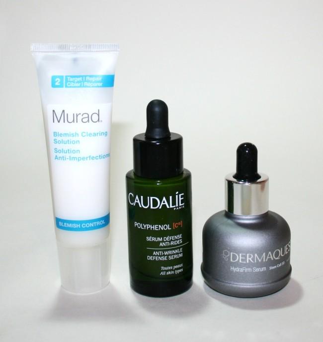 Current Skincare Routine Murad Caudalie Dermaquest