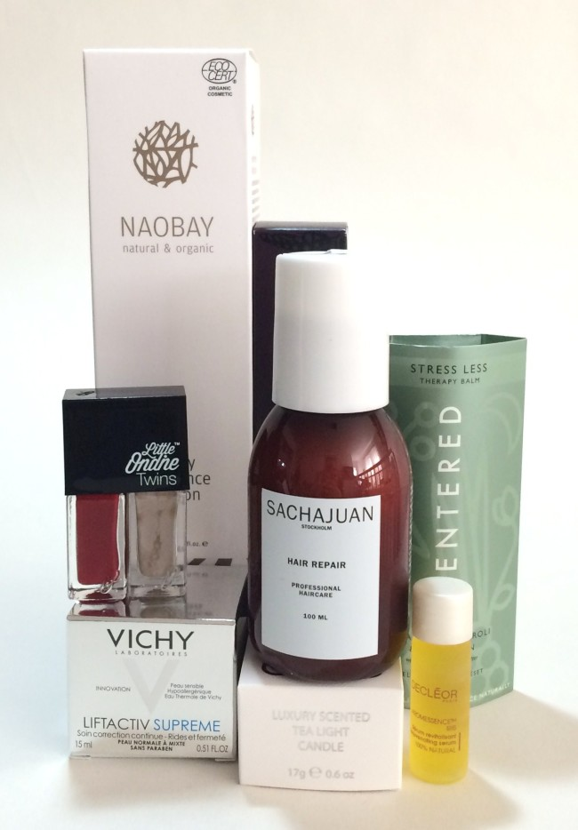 Glossybox The Treatment Collection Contents