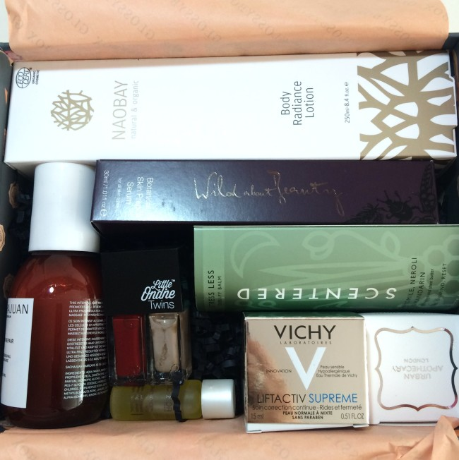 Glossybox The Treatment Collection Revieww