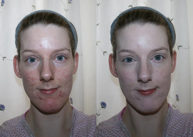 Kevyn Aucoin The Sensual Skin Fluid Foundation Before and After