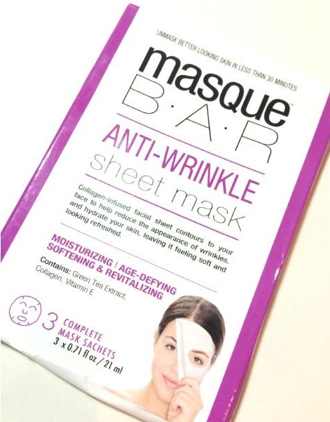 MasqueBar Anti-Wrinkle Sheet Mask