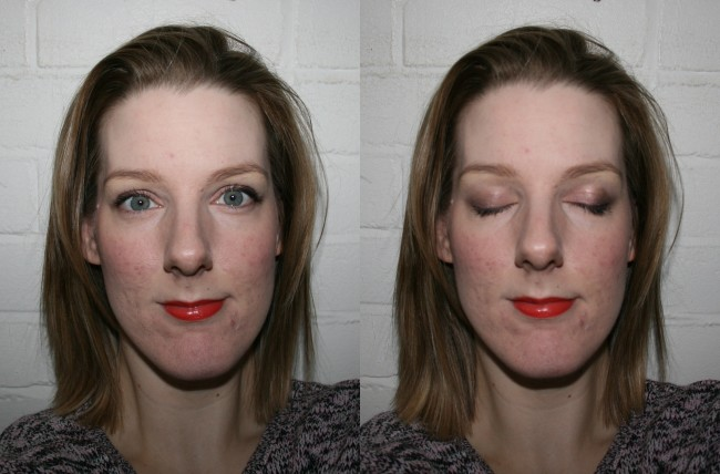 Sisley Phyto 4 Ombres in Dream and Phyto Lip Twist in Coral