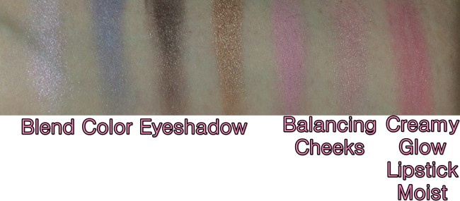 Suqqu SS15 Swatches