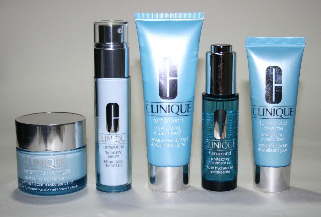 Clinique Turnaround Skincare Range