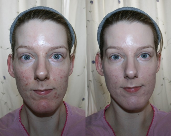 Erborian BB Creme Au Ginseng Before and After