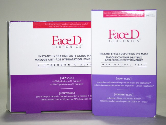 Face D 3-Luronics Instant Hydrating Anti-Ageing Mask