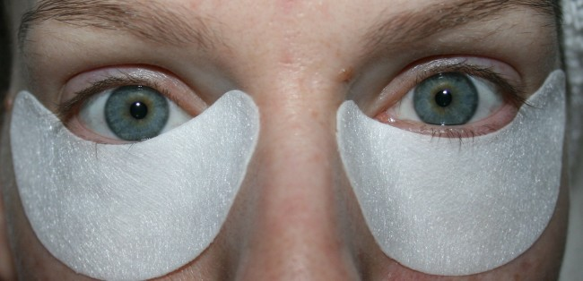Face D 3-LuronicsInstant Effect Depuffing Eye Mask Review
