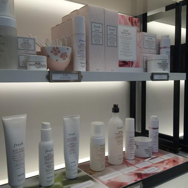 Fresh Skincare Display