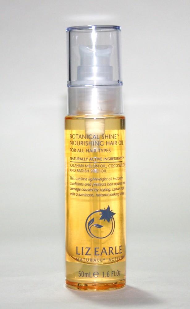 Liz Earle Botanical Shine Nourishing Hair Oil Review