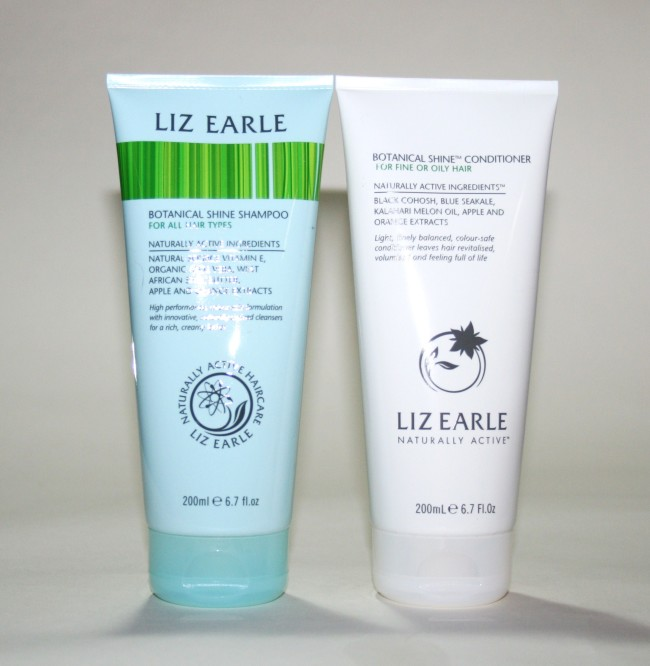 Liz Earle Botanical Shine Shampoo and Conditioner Review