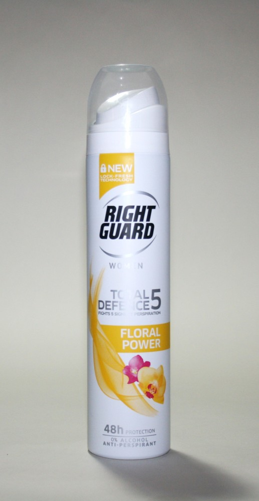 Quick Pick Tuesday: Right Guard Total Defence 5 Floral Power