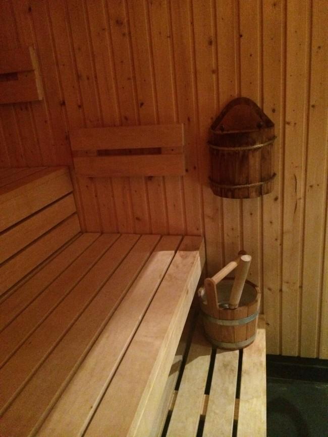Sense Spa Rosewood Sauna Review
