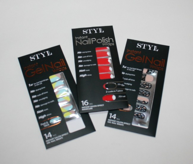 Styl London Monthly Manicure Box Review