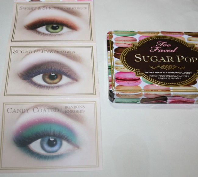Too Faced Sugar Pop Palette Shades