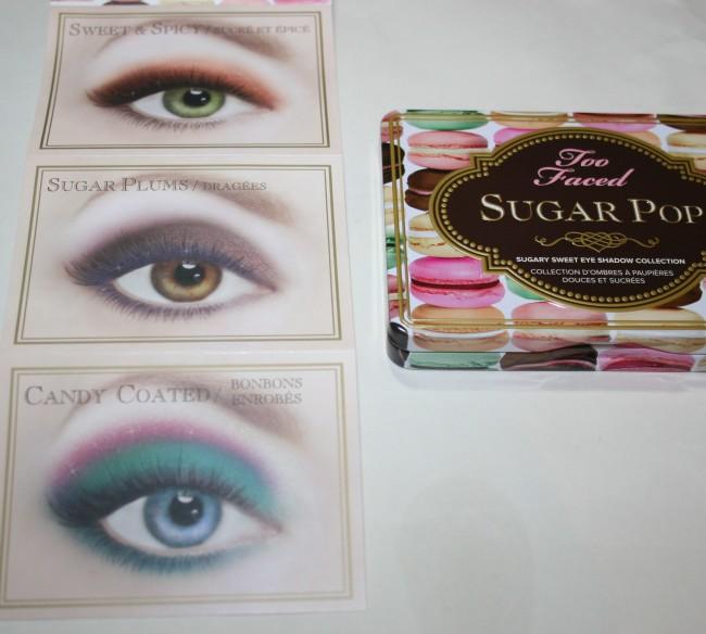Too Faced Sugar Pop Palette Shades